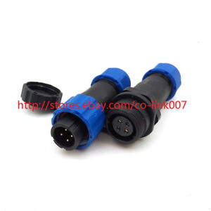 SD13-4pin-Waterproof-Connectors-High-voltage-Power-Connector-AC-DC-Circular-Plug