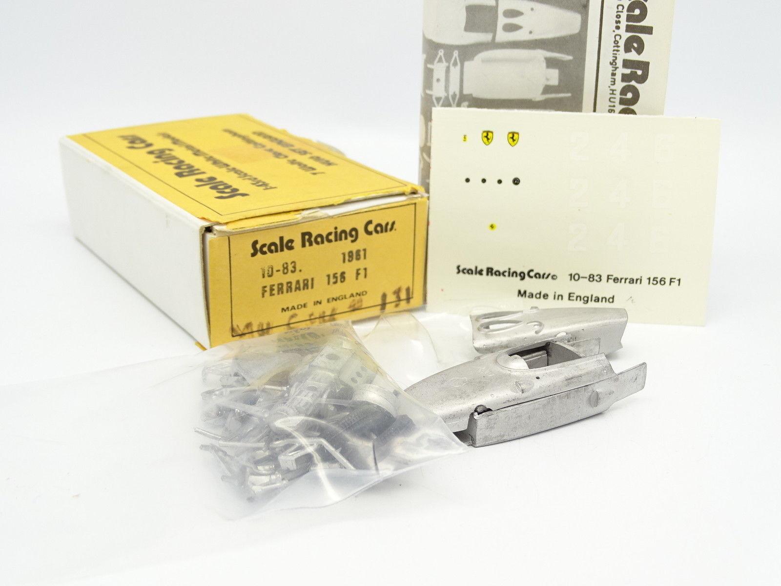 precioso Escala Racing Coches Kit para Montar 1 43 43 43 - Ferrari F1 156 1961  mejor opcion