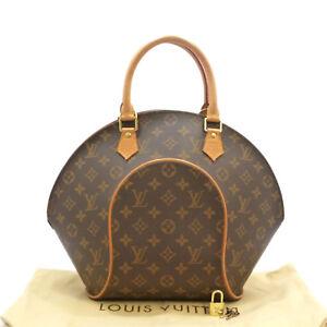 6616502f806 Authentic LOUIS VUITTON Ellipse MM Hand Bag Monogram Canvas M51126 ...