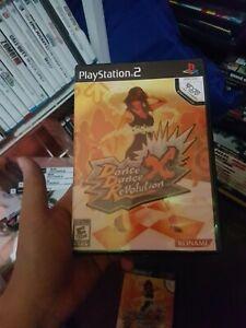 Dance-Dance-Revolution-X-Playstation-2-Game-Complete