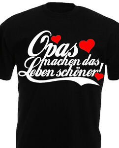 T Shirt Opa Geburtstagsgeschenke Familie Geburtstag Witziges Lustige