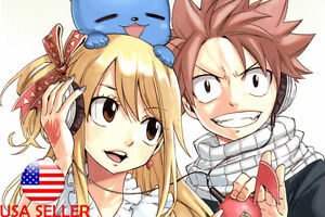 Natsu ,Lucy, and Happy! :3