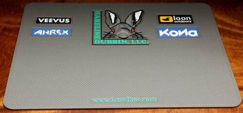 Bindetisch MEGA Tying Pad Hareline USA Silikonmatte 60 x 45 cm Bigger is better