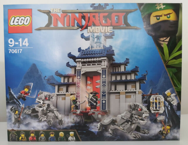 lego 70617 ninjago temple of the ultimate weapon preowned