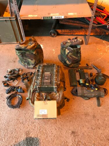 CLANSMAN UK RT320 PRC3201 LSBUSB RUCKSACK HF SET serviced with switchable LSB