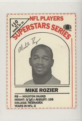 1986 Dairy Pak Milk Carton Cards Red/Black Ink Mike Rozier ...