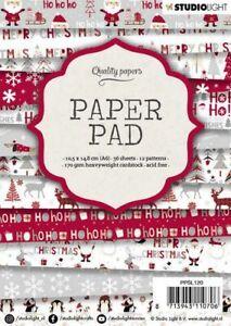 Paper-pad-Papier-block-Weihnacht-Winter-Christmas-Snow-A6-Studiolight-PPSL120