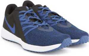 New-Nike-Varsity-Compete-Trainer-Men-039-s-Shoe-in-Black-Gym-Blue-Colour-Size-12