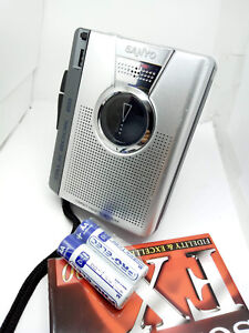 Sanyo-TRC-1149-Talk-Book-Standard-Compact-Cassette-Voice-Recorder-Dictaphone