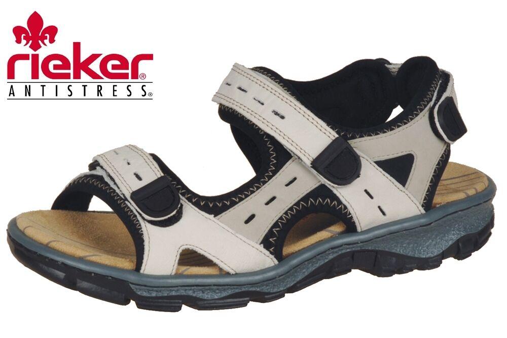 Damen Trekking Sandale Rieker Clara Beige 68872 Sommer NEU