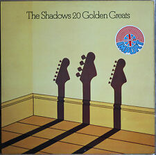 THE SHADOWS 20 GOLDEN GREATS  33T  LP