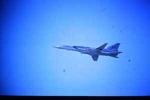 4-450-2-Tupolev-Tu-22M-Backfire-Russian-Air-Force-wings-out-Kodachrome-SLIDE