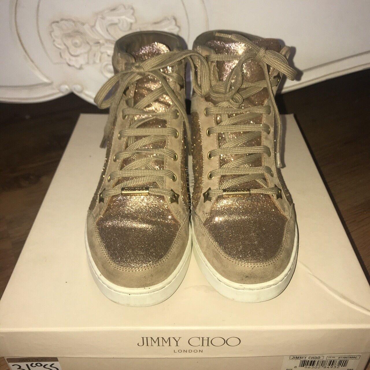 Jimmy Choo UK2 Gold Trainers - UK2 Choo 8d6f9f