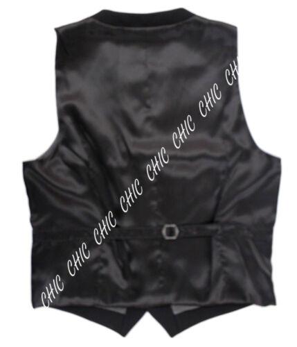 MARKS /& SPENCER HOMME autographe pure laine vierge coupe ajustée Gilet Noir RRP £ 65