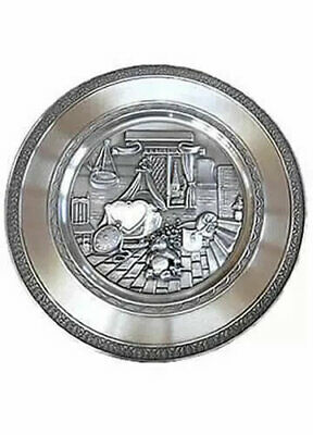 Collectibles Teddy Bear Engravable Pewter Plate Fine Quality Keepsakes & Baby Announcements