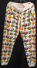FACEBOOK EMOJI DESIGNER JOGGER PANTS NEW SIZE 2XL W TAGS WHITE 52.00 RETAIL