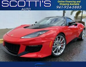 2020 Lotus Evora GT GT~ ONLY 2K MILES~ 1-OWNER~ CLEAN CARFAX~ 6 CYL SU