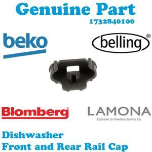 Adaptable Beko Dwd4312w Dfn1000x Dwd4312s Lave-vaisselle Rail Cap Panier Avant Arrière Clip-afficher Le Titre D'origine