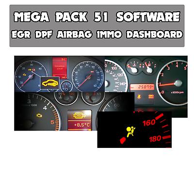 AIRBAG DASH LAMBDA MEGA PACK FOR DPF EGR IMMO,DTC REMOVE,REPAIR,DELETE ECU