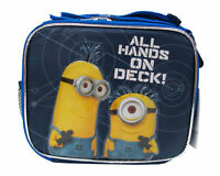 Despicable Me 2 Minion School Lunch Box - All Hands On Deck - Licensed Product
