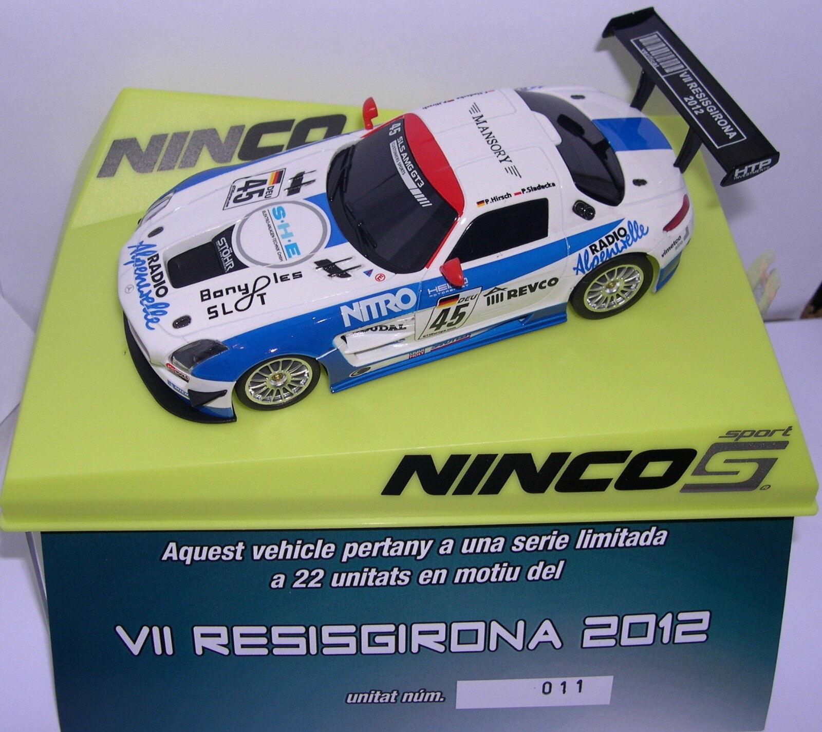 NINCO MERCEDES SLS GT3 VII RRESISGIRONA 2012 OFF. OFF. OFF. DRIVERS EDITION LIMITÉE 22 467fc3