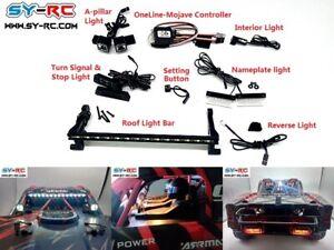 SY-RC OneLine-Mojave LED Light Kit for Arrma 1:7 Mojave BLX / EXB RC Truck