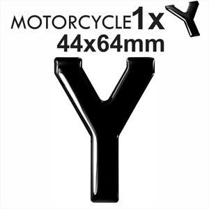 Motorcycle number plate 3D Gel Domed Resin Making DIY Letter Y GB REG 44x64  mm | eBay