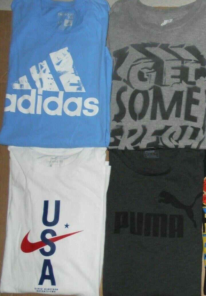 😃Lot 8 Nike Under Armour Reebok Adidas Puma Men … - image 2