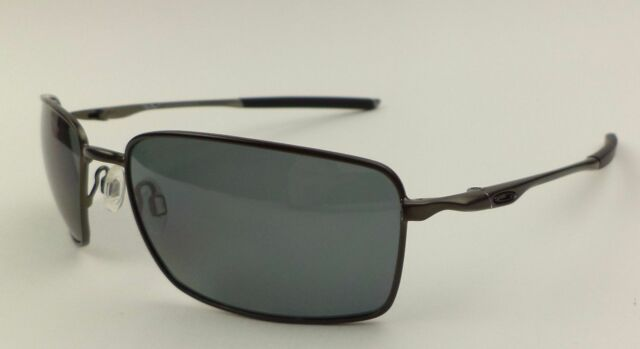 b2d73c868e Oakley Sunglasses Square Wire II Carbon Grey Polarized Oo4075-04 for ...