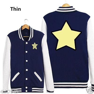 Space☆Dandy Space Dandy Baseball Uniform Cosplay Costume Jacket Coat Unisex