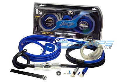 NEW STINGER TRU SPEC 1/0 AWG GAUGE CAR STEREO AMP INSTALL POWER WIRING KIT 0G