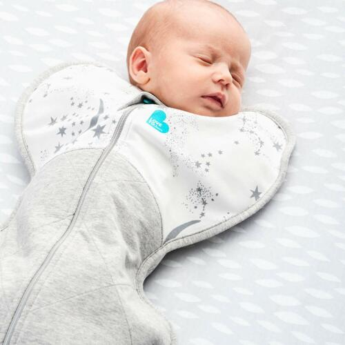 Brand new Love to dream swaddle up warm 2.5 tog blue medium 6 kg to 8.5 kg