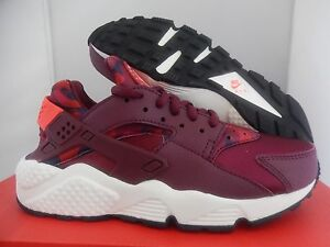 Image is loading NIKE-AIR-HUARACHE-RUN-PRINT-DEEP-GARNET-BRIGHT-