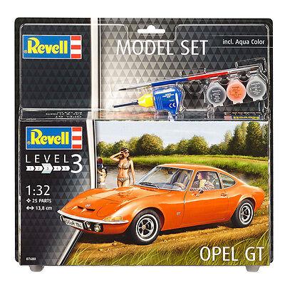 échelle 1:32 niveau 3 model kit new Revell opel gt