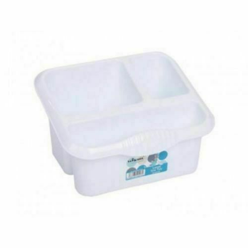 Wham Large High Grade Plastic Sink Tidy Drainer Cutlery Holder Caddy