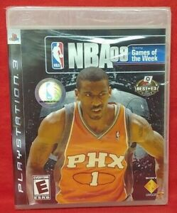NBA-Basketball-08-Games-of-the-Week-PlayStation-3-PS3-Game-New-Factory-XY-Sealed