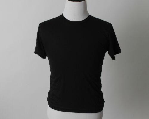 New American Apparel Men/'s Black 50 50 T Shirt Shirt Made USA Medium M Small S