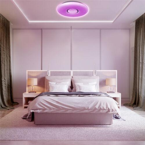 36W LED Deckenleuchte RGB Deckenlampe Dimmbar mit Fernbedienung Lampe Wohnzimmer