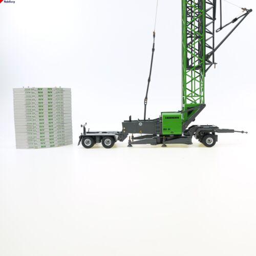 Fahrwerk set NZG nzg 870//021 Liebherr 81 K Schnelleinsatzkran Volk Bau