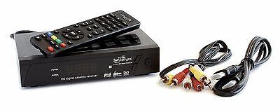 con Adaptador USB-LAN SatIntegral S-1268 HD Heavy Metal Receptor sat/élite Full HD