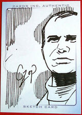 SKETCH CARD - JEFF TRACY - JOHN CZOP - Thunderbirds The Movie - by Cards Inc.