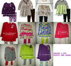* NWT NEW GIRLS 2PC KIDS HEADQUARTERS NANNETTE WINTER OUTFIT SET 2T 3T 4T 4 5 6