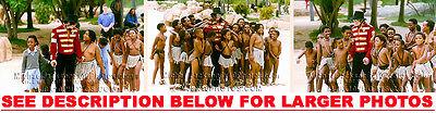 MICHAEL JACKSON 1991 SUNCITY AFRICA 3xRARE8x10 PHOTOS