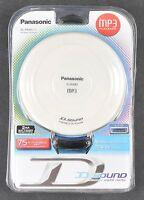 Panasonic Mp3 Portable Cd Player Sl-sx480p-w Brand W Headphones