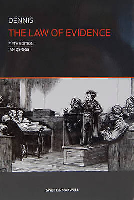 1 of 1 - The Law of Evidence-ExLibrary