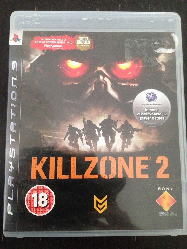Killzone 2 (brugt), PS3, action