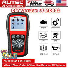 Autel Diaglink Auto Obd2 Diagnostic Scan Tool Obd Code Reader Abs Srs All System
