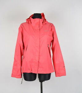 Didriksons Storm System Hooded Women Jacket Size 170 Fits L, Genuine