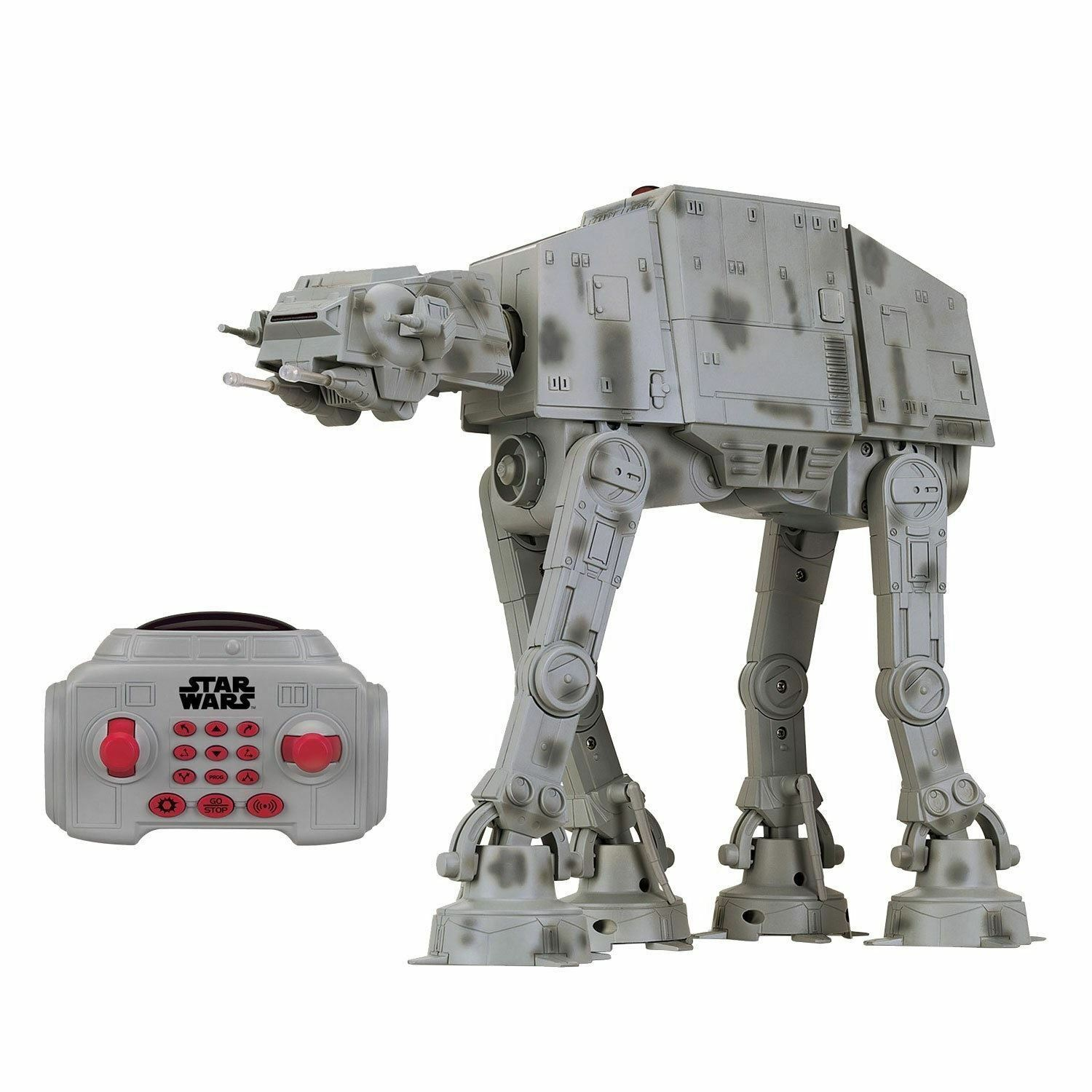 Star Wars AT-AT Remote Control Vehicle Sound & Light Up U-Command RC Toy