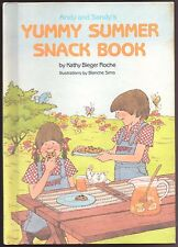 Children's Book ANDY AND SANDY'S YUMMY SUMMER SNACK BOOK Cook Book